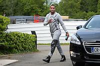 Dimitri Payet - 01.06.2015 -Equipe de France - Arrivee des joueurs a Clairefontaine<br /> Photo : Andre Ferreira / Icon Sport