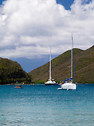 View of Waterlemon Bay, St. Johns, US Virgin Islands