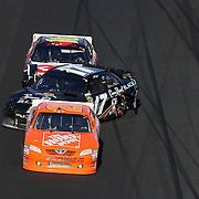 Sprint Cup Series driver Matt Kenseth (17) spins into the wall during the Daytona 500 at Daytona International Speedway on February 20, 2011 in Daytona Beach, Florida. (AP Photo/Alex Menendez)