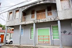 The Virgin Islands Economic Development Association Enterprise & Commercial Zone Commission hosts a historical tour through the Savan (Savanne) neighborhood.   St. Thomas, US Virgin Islands.  9 July 2015.  © Aisha-Zakiya Boyd