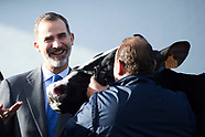 012218 King Felipe VI visits to the Headquarters of Central Lechera Asturiana