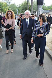 Lionel Jospin attending the funeral ceremony of French designer Sonia Rykiel at the Montparnasse cemetery in Paris, France on September 1, 2016. The 86 years old pioneer of Parisian womenswear from the late 1960's onwards, has died from a Parkinson's disease-related illness. Photo by Alban Wyters/ABACAPRESS.COM