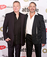Andy Bell & Stephen Moss, The Virgin Holidays Attitude Awards Powered by Jaguar, The Roundhouse, London UK, 12 October 2017, Photo by Brett D. Cove
