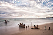 Dicky Beach, named after the shipwreck of the SS Dicky that ran aground in 1893