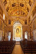 Chapel in the Museu Nacional do Azulejo in Lisbon, Portugal