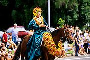 Pau rider, Aloha week, Hawaii