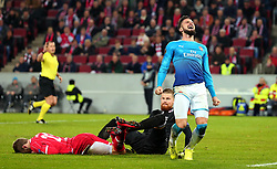 Olivier Giroud of Arsenal cuts a frustrated figure after missing a chance to score - Mandatory by-line: Robbie Stephenson/JMP - 23/11/2017 - FOOTBALL - RheinEnergieSTADION - Cologne,  - Cologne v Arsenal - UEFA Europa League Group H