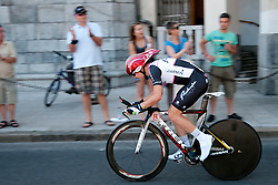 Cyclist of KK Radenska during chronometer (17,8km) of Tour de Slovenie 2012, on June 17 2012, in Ljubljana, Slovenia. (Photo by Urban Urbanc / Sportida.com)