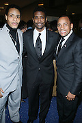 """l to r: Omar Edwards, Jay Norris and Hil Harper at """" The Obama That One: A Pre-Inagural Gala Celebrating the Victory of President-Elect Obama celebration held at The Newseum in Washington, DC on January 18, 2009  .."""