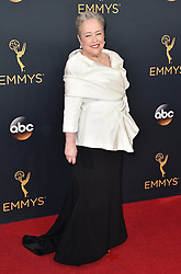 Kathy Bates attends the 68th Annual Primetime Emmy Awards at Microsoft Theater on September 18, 2016 in Los Angeles, CA, USA. Photo by Lionel Hahn/ABACAPRESS.COM