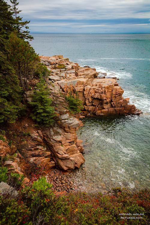 """TO PURCHASE: Simply click """"Add to Cart"""" to see prints and products available.<br /> <br /> Acadia National Park is an American jewel located on the stunning coast of Maine.<br /> <br /> The first national park located east of the Mississippi River it boasts views unlike anything on the eastern seaboard.<br /> <br /> This image represent the classic, iconic Maine Coast and was captured inside Acadia National Park.<br /> <br /> Camera Data:<br /> f/13, 1/15sec, 24mm, ISO100<br /> RAW, Manual Mode, Evaluative Metering<br /> Tripod, Bare Glass, Lr<br /> Canon 5ds, Canon EF 24-105mm<br /> <br /> High Resolution Image"""