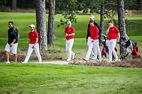 HILVERSUM - Team Switserland, swiss,     ELTK Golf 2020 The Dutch Golf Federation (NGF), The European Golf Federation (EGA) and the Hilversumsche Golf Club will organize Team European Championships for men.  COPYRIGHT KOEN SUYK