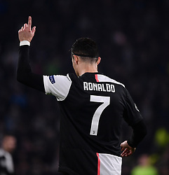TURIN, Nov. 27, 2019  FC Juventus' Cristiano Ronaldo reacts during the UEFA Champions League Group D match between FC Juventus and Atletico Madrid in Turin, Italy, Nov. 26, 2019. (Photo by Federico Tardito/Xinhua) (Credit Image: © Cheng Tingting/Xinhua via ZUMA Wire)