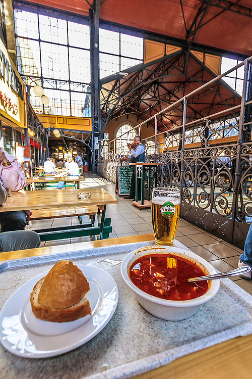 Hungarian Goulash or gulyás served with Hungarian violin music makes a perfect lunch in Budapest, Hungary. This thick, hearty soup has been energy producing herdsman's dish. Herdsman is gulyás in Hungarian.