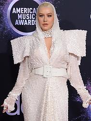 47th Annual American Music Awards - Arrivals. 24 Nov 2019 Pictured: Christina Aguilera. Photo credit: MEGA TheMegaAgency.com +1 888 505 6342