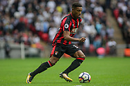 Jordon Ibe of AFC Bournemouth in action. <br /> Premier league match, Tottenham Hotspur v AFC Bournemouth at Wembley Stadium in London on Saturday 14th October 2017.<br /> pic by Kieran Clarke, Andrew Orchard sports photography.