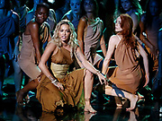 Editorial use only. No book publishing<br /> Mandatory Credit: Photo by Dymond/Thames/Syco/Shutterstock (9696726hk)<br /> Rita Ora performing 'Girls'<br /> 'Britain's Got Talent' TV show, Series 12, Episode 10, London, UK - 30 May 2018