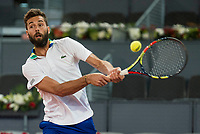 French Benoit Paire during Mutua Madrid Open Tennis 2017 at Caja Magica in Madrid, May 10, 2017. Spain.<br /> (ALTERPHOTOS/BorjaB.Hojas)
