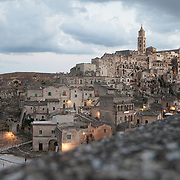 Matera, Italy, August 24, 2014.