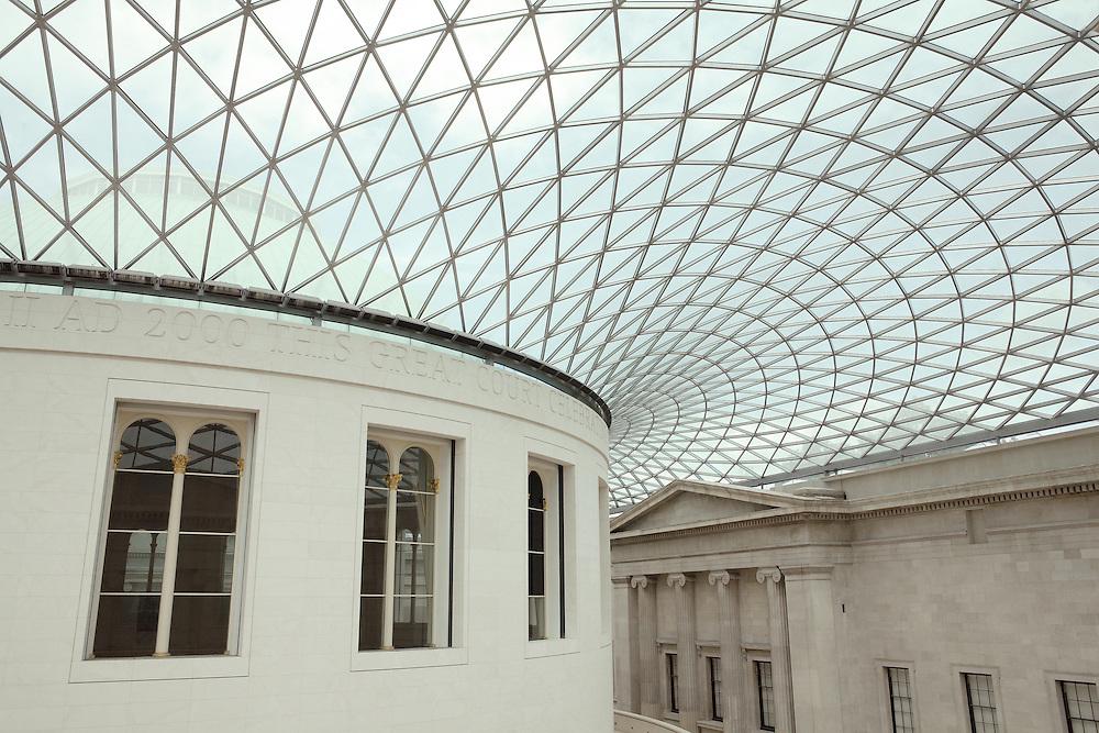 Rotunda High Ceiling View British Museum - London, UK