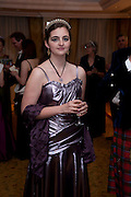ELOISE THOMSON, 2009 Royal Caledonian Ball in aid of various Scottish charities , Great Room, Grosvenor House. London. 1 May 2009.