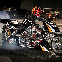Mark Ashelford (1538) - Attitude Racing - Harley-Davidson Top Fuel Motorcycle.