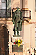 Statue of Santiago Rusinol. Sitges, Catalonia, Spain