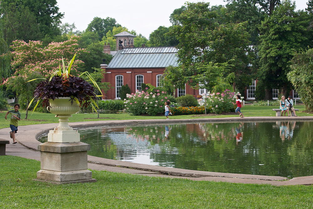 Piper Palm House in Tower Grove Park in St. Louis, Missouri on July 1, 2007