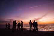 December 3-4, 2016: Ferrari Finali Mondiali, Gulf Coast of Florida sunset