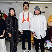 Backstage at Fashion Scout - SS19 Day 3, London, UK