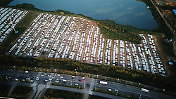 September 6, 2017 - Shenyan, Shenyan, China - Shenyang, CHINA-6th September 2017: (EDITORIAL USE ONLY. CHINA OUT)..Thousands of cars can be seen at the biggest parking lot in Shenyang, northeast China's Liaoning Province. (Credit Image: © SIPA Asia via ZUMA Wire)