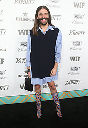 September 15, 2018 - West Hollywood, California, U.S. - 15 September 2018 - West Hollywood, California - Jonathan Van Ness. Variety and Women in Film 2018 Television Nominees Celebration sponsored by Cadillac and Heineken held at Cecconi's. Photo Credit: Faye Sadou/AdMedia (Credit Image: © Faye Sadou/AdMedia via ZUMA Wire)