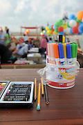 Children's activity crayons for handiwork