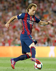 30.05.2015, Camp Nou, Barcelona, ESP, Copa del Rey, Athletic Club Bilbao vs FC Barcelona, Finale, im Bild FC Barcelona's Ivan Rakitic // during the final match of spanish king's cup between Athletic Club Bilbao and Barcelona FC at Camp Nou in Barcelona, Spain on 2015/05/30. EXPA Pictures © 2015, PhotoCredit: EXPA/ Alterphotos/ Acero<br /> <br /> *****ATTENTION - OUT of ESP, SUI*****
