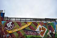 Mural on the wall of the County Ground during the The FA Cup 2nd round match between Swindon Town and Woking at the County Ground, Swindon, England on 2 December 2018.