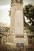 World War I memorial, Villandry, France