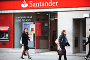 Santander, a Spanich banking company is now a regular sight on the British High Street. Grupo Santander is a banking group centered on Banco Santander, the largest bank in the Eurozone and one of the largest banks in the world in terms of market capitalisation.