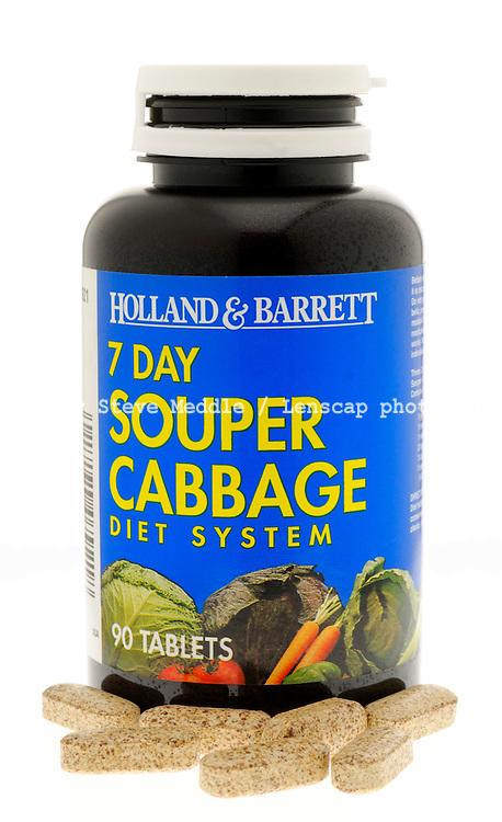 Holland & Barrett Cabbage Diet Tablets