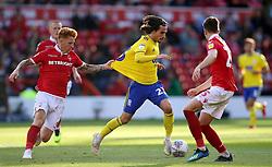 Nottingham Forest's Jack Colback pulls back on Birmingham City's Jota
