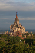 Gawdawpalin Temple in the ancient city of Bagan, Myanmar