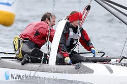 , Kiel - Kieler Woche 20. - 28.06.2015, Nacra 17 - GER 265 - Rumpf, STefan
