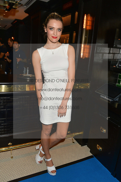 WALLIS DAY at the Maybelline New York: Party, part of the London Fashion Week Spring Summer 15 held at Tredwell's, 4a Upper St Martins Lane, London on 12th September 2014.
