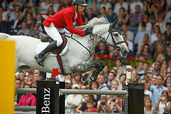 Beerbaum Ludger, (GER), Chiara<br /> Individual Final Competition round 2<br /> FEI European Championships - Aachen 2015<br /> © Hippo Foto - Dirk Caremans<br /> 23/08/15