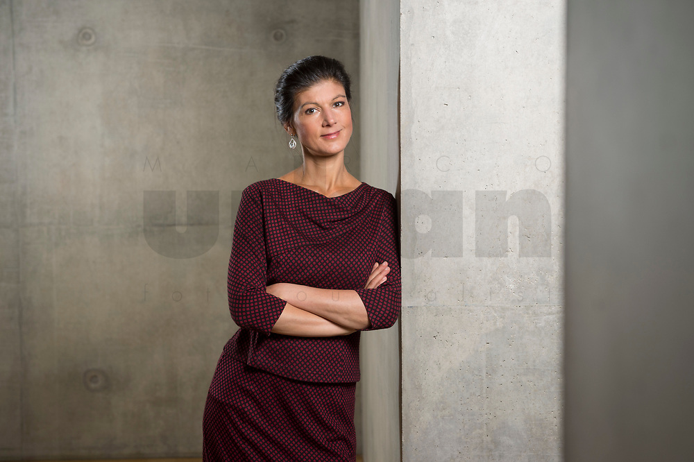 16 MAY 2016, BERLIN/GERMANY:<br /> Sahra Wagenknecht, MdB, Die Linke, Fraktionsvorsitzende DIe Linke Bundestagsfraktion, Jakob-Kaiser-Haus, Deutscher Bundestag<br /> IMAGE: 20170516-02-007