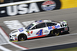 September 14, 2018 - Las Vegas, Nevada, United States of America - Kevin Harvick (4) brings his race car down the front stretch during practice for the South Point 400 at Las Vegas Motor Speedway in Las Vegas, Nevada. (Credit Image: © Chris Owens Asp Inc/ASP via ZUMA Wire)