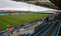 A general view of Sandy Park, home of Exeter Chiefs<br /> <br /> Photographer Bob Bradford/CameraSport<br /> <br /> Gallagher Premiership Round 4 - Exeter Chiefs v Gloucester Rugby - Saturday 26th December 2020 - Sandy Park - Exeter<br /> <br /> World Copyright © 2020 CameraSport. All rights reserved. 43 Linden Ave. Countesthorpe. Leicester. England. LE8 5PG - Tel: +44 (0) 116 277 4147 - admin@camerasport.com - www.camerasport.com
