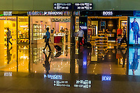 Chengdu Shuangliu International Airport, Chengdu, China.