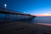 Balboa Pier Newport Beach At Dusk