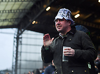Rugby Union - 2019 / 2020 Gallagher Premiership - Harlequins vs. Saracens<br /> <br /> A Harlequins fan protests over the salary cap breach, at The Stoop.<br /> <br /> COLORSPORT/ASHLEY WESTERN