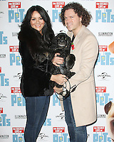 Martine McCutcheon & Jack McManus, The 'Petmiere' of The Secret Life of Pets to mark the UK DVD Release, Prince Charles Cinema, London UK, 12 November 2016, Photo by Brett D. Cove